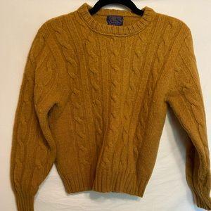 Pendleton sweater.